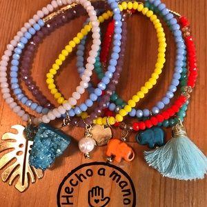 Jewelry - Semanario multicolor